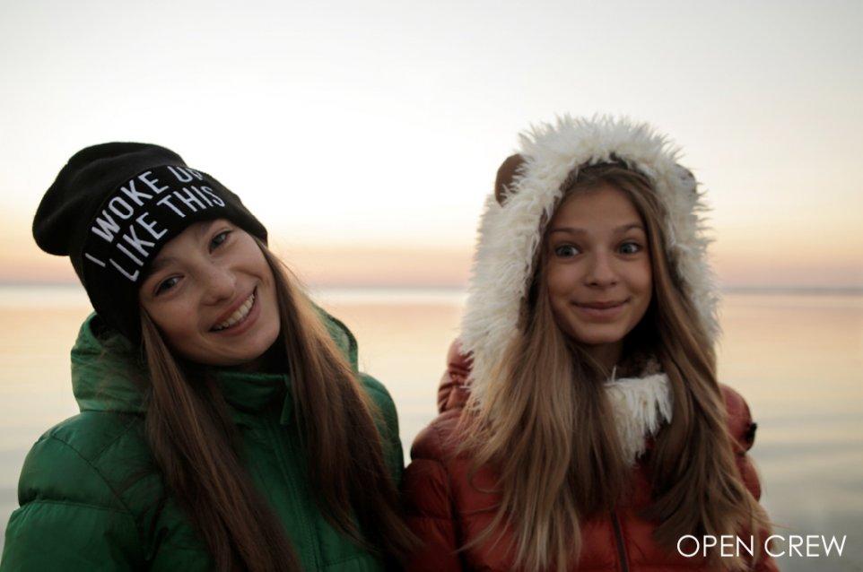 Александра Кравченко и Алина Шаповал