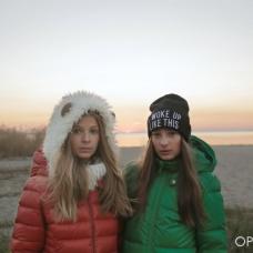 Алина Шаповал и Александра Кравченко