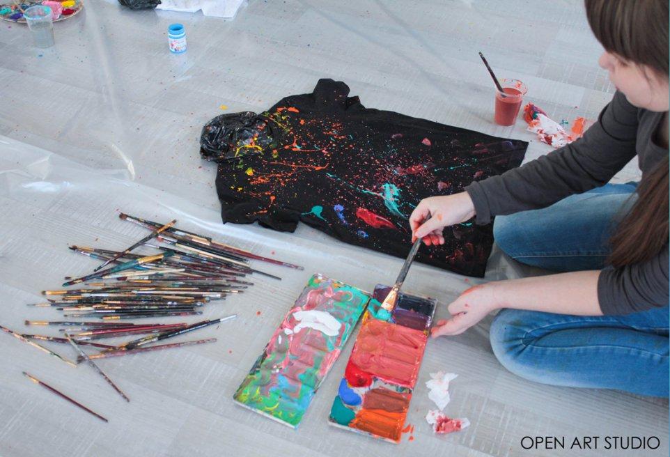 «Casual blood» от Evgenia Pavlenko & Open Art Studio