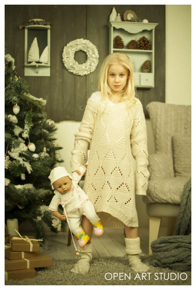 Новогодняя фотосессия Яны Заец и ее воспитанниц