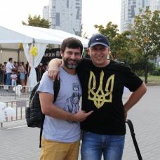 Выступление Open Art Studio в парке Позняки