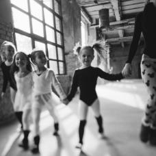 Яна Заец и ее воспитанницы для журнала LAPSET MAGAZINE